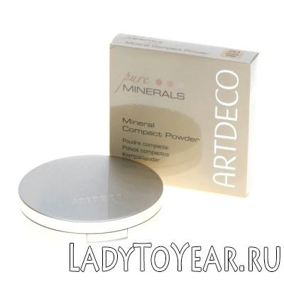 Мінеральна компактна пудра Mineral Compact Powder від Artdeco фото