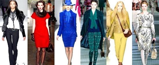 Що носити восени 2012 року