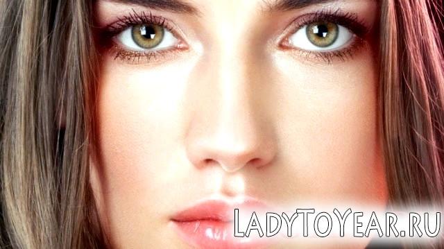 Денний макіяж для зелених очей фото
