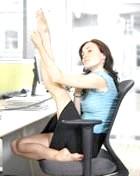 Якщо ти весь день сидиш, то та область, яка стикається зі стільцем, відчуває багато напруги