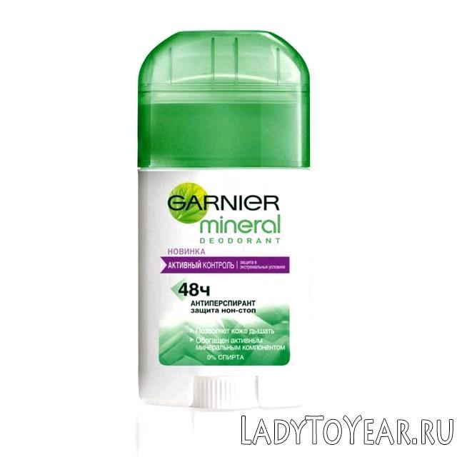 Мінеральний дезодорант від Гарньєр (Garnier Mineral) 48 годин фото
