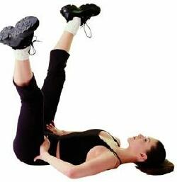 «Ножиці» вправа для схуднення ніг