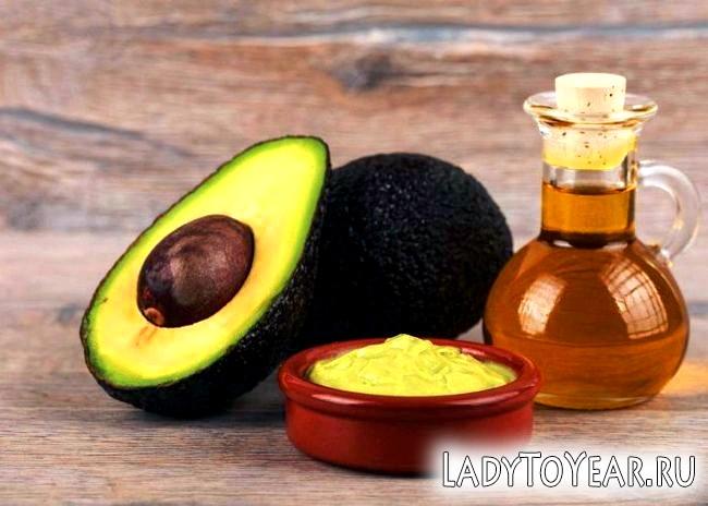 Авокадо і масло