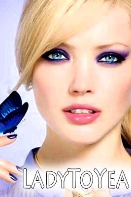 Макіяж для сіро-блакитних очей фото