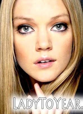 Денний макіяж для блакитних очей фото