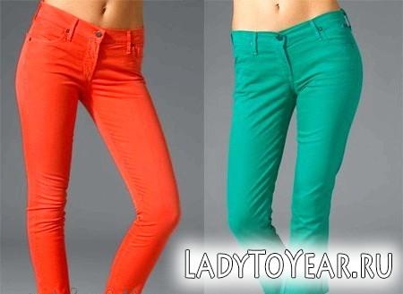Які джинси модні в 2012 році