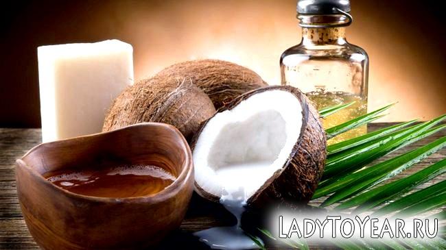 Кокосова олія, кокоси і натуральне мило