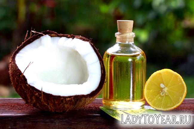 Кокос, лимон і кокосове масло