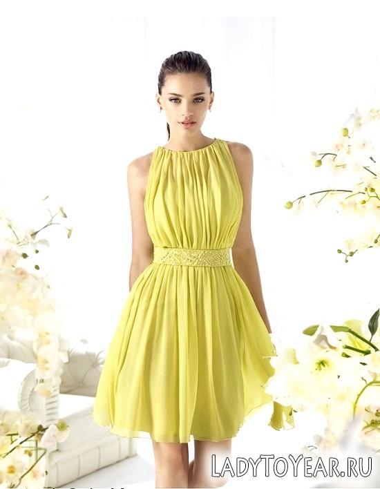 Красиві і стильні короткі вечірні сукні