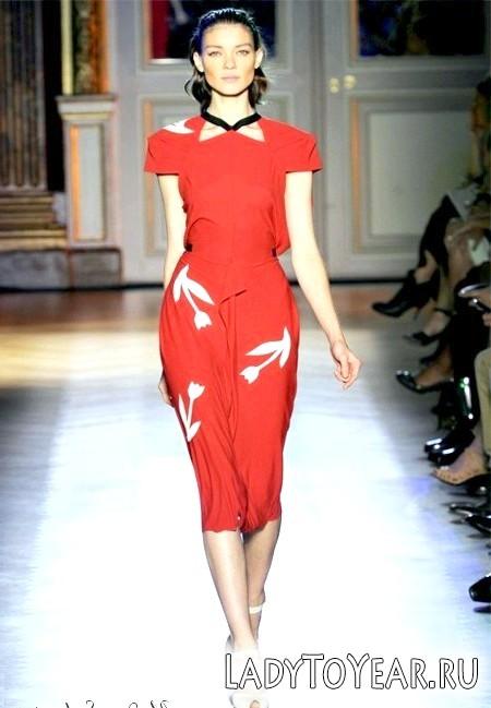 Червоні сукні 2012