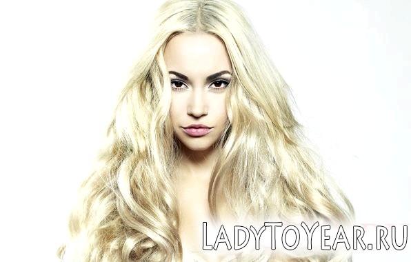 Кароока блондинка - макіяж фото