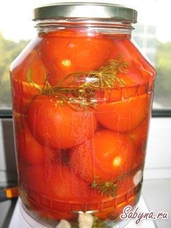 Як замаринувати помідори