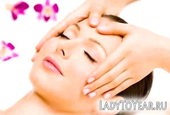 Наведемо особа в порядок за допомогою масажу