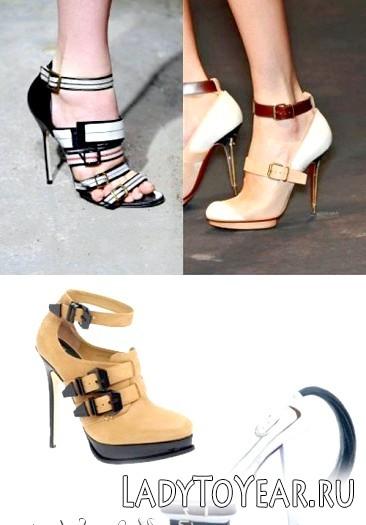Мода на взуття весна-літо 2015