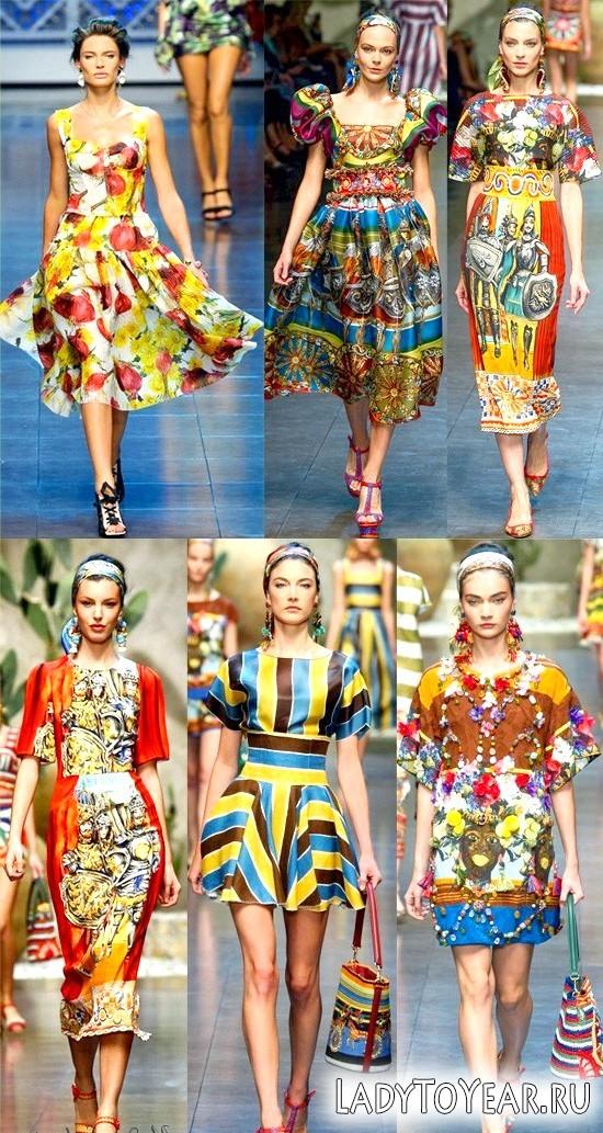 Мода для повних весна-літо 2012