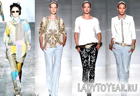 Модні брюки 2012 (фото)