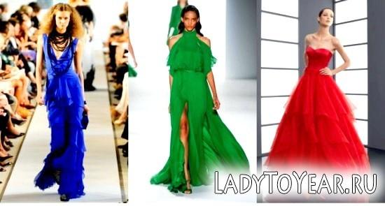 Модні вечірні сукні 2012 фото