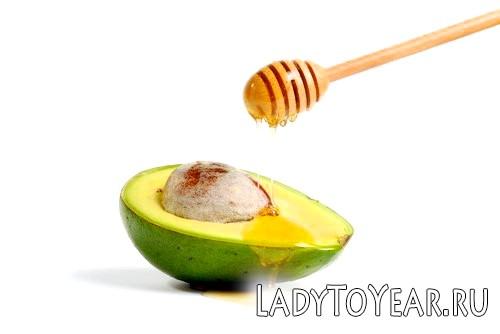Авокадо і мед