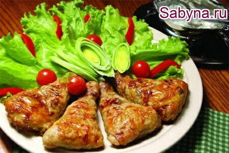 Фаршировані курячі гомілки під грудинкою, смачний новорічний рецепт 2013