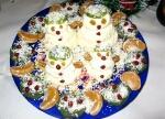 Новорічні сніговики десерт для дітей новорічні рецепти 2013
