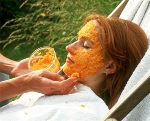овочеві маски для обличчя