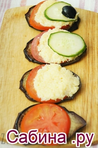 Що потрібно для приготування закуски «хвіст павича»: