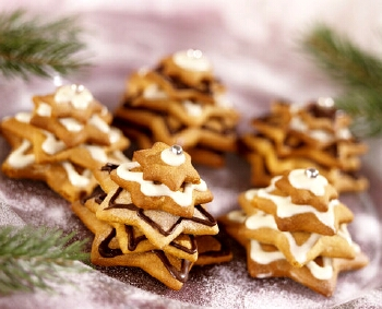 Десерт Печиво «Новорічні ялинки»