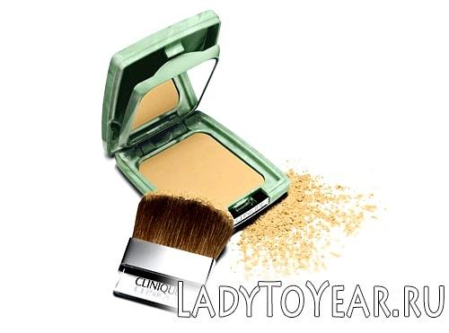 Компактна пудра від Клінік Almost Powder Makeup SPF 15 фото