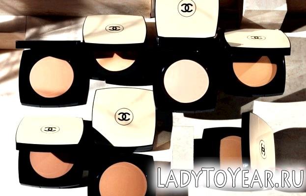 Разнообразий вибір Пудри Chanel фото