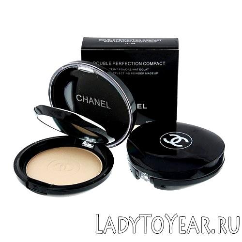 Компактна пудра Шанель Double Perfection Compact фото