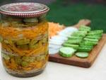 Салат з огірків на зиму рецепти