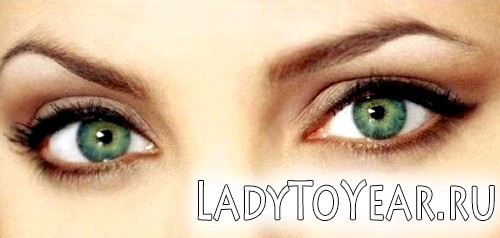 Особливості макіяжу зелених очей фото