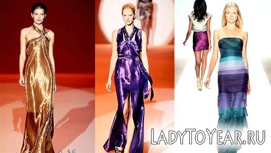 Шифонові сукні 2012