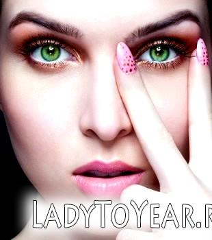 Особливості макіяжу для зелених очей фото