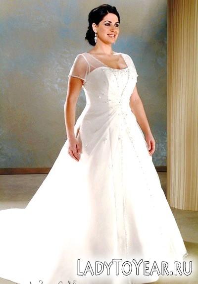 Весільні сукні для повних дівчат