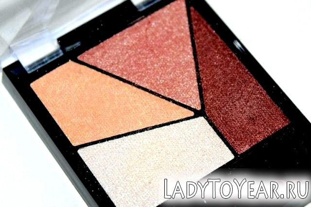 Тіні Maybelline Diamond Glow фото