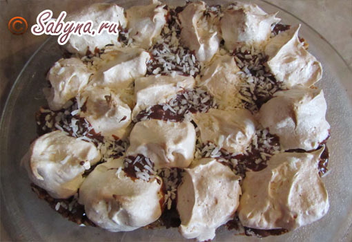 Торт меренговую-2