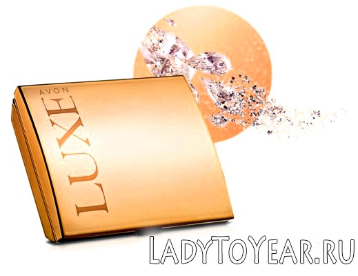 Пудра компактна Ейвон Luxe фото