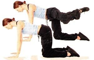 А ось і самі фітнес-вправи для внутрішньої сторони стегна.