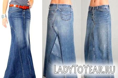 Уроки стилю: з чим і як носити джинсову спідницю певного фасону