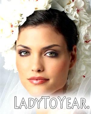 Макіяж для зелених очей на весілля фото