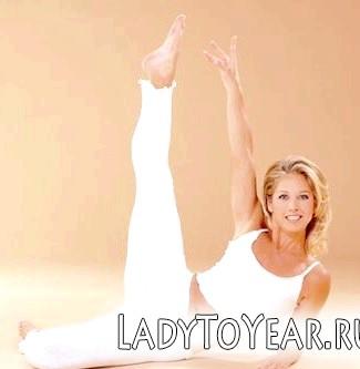 Гімнастика калланетик - це статичні вправи, направлення на скорочення і розтяжку м'язів
