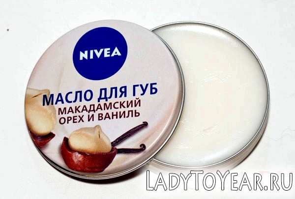 Відкрите масло для губ Нівеа фото