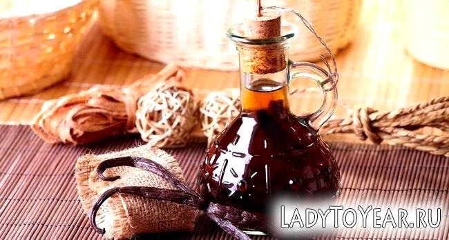 Масляний екстракт ванілі, приготований в домашніх умовах