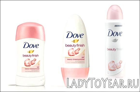 Дезодорант Dove beauty finish фото