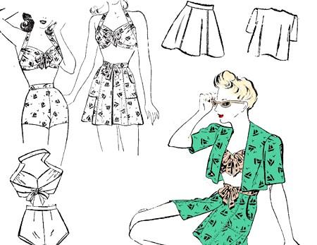 вінтажний стиль в одязі