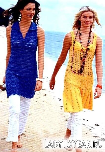 В'язані літні сукні: кому, як і з чим носити?